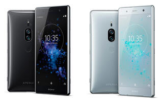 Sony's Xperia XZ2 Premium has a 4K display and dual rear cameras that can shoot at ISO 51,200