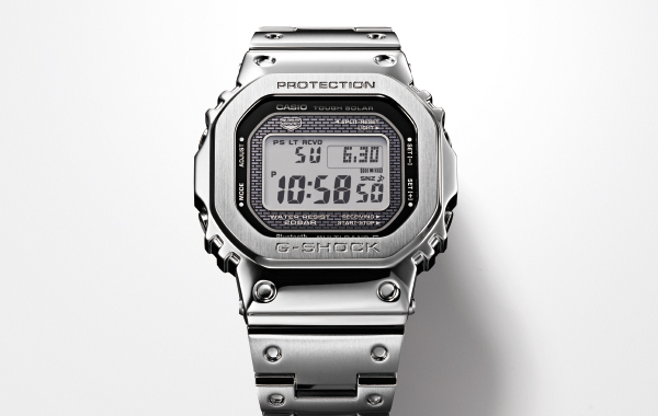 Casio's first 'full metal' 5000-series G-Shock watches to be available here on 25 April