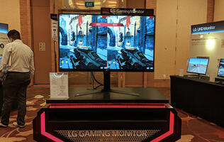 LG shows off its new range of gaming, UltraWide, and 4K monitors for 2018