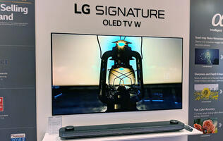 LG's AI-infused 4K OLED TVs to arrive in stores this month