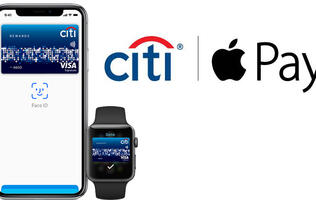 Citibank credit cards can now be used with Apple Pay