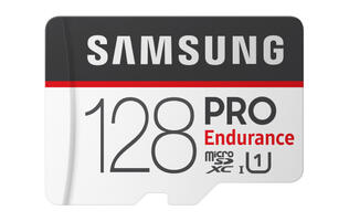 Samsung releases PRO Endurance memory cards designed for video recording