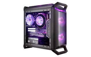 Cooler Master's MasterBox Q300 series cases were built for LAN parties