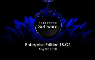 AMD's new Radeon Pro Software Enterprise Edition driver boasts much improved app performance