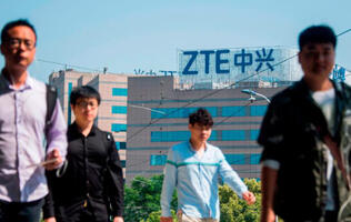 Trump tweets that he is working to get ZTE 'back into business, fast'