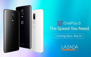 Launch date of OnePlus 6 in Singapore revealed