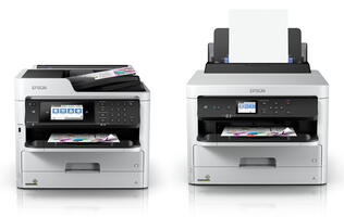 Epson's newest A4 inkjet printers can print thousands of pages thanks to their large ink packs
