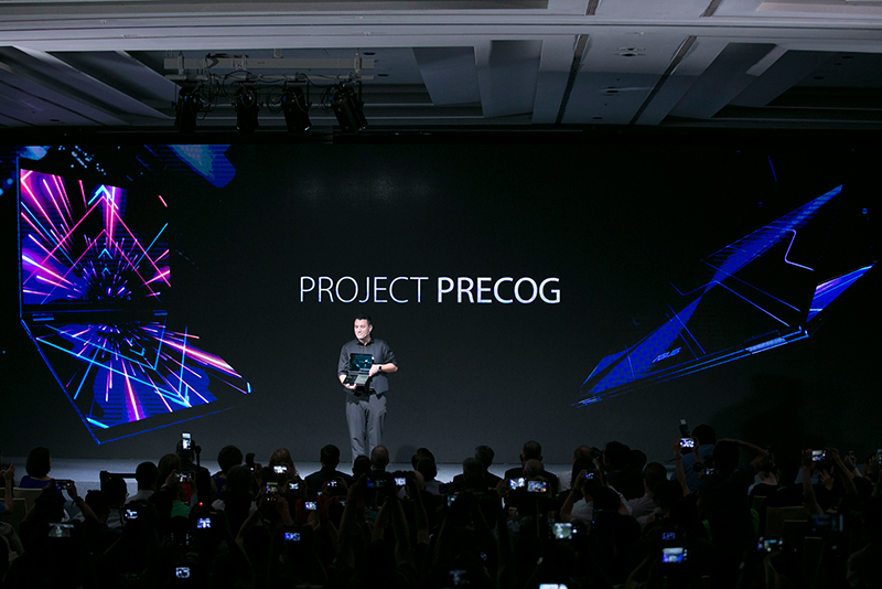 ASUS' Project Precog is a futuristic, AI-powered concept PC with two screens