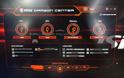 MSI's Dragon Center 2 0 is a rejuvenated one-stop control