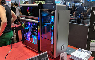 Thermaltake's new Level 20 cases are tempered glass beauties