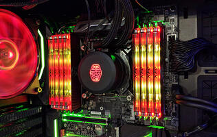 Adata's liquid-cooled XPG Spectrix D80 RGB memory hits the 5,531MHz mark