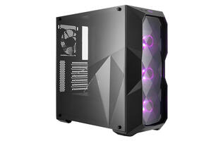 Cooler Master's MasterBox TD500 shows off your hardware with a clear edge-to-edge side panel