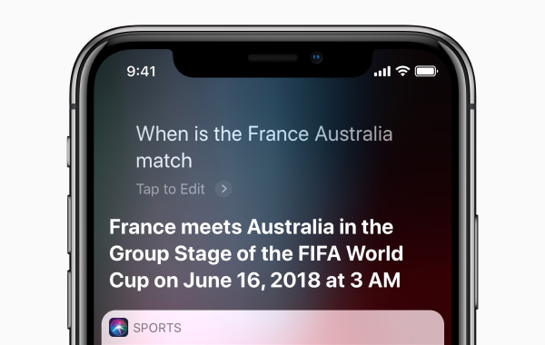 Here's how you can use Siri to get the latest World Cup news
