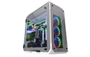 Thermaltake's View 71 Tempered Glass Snow Edition is an all-white E-ATX chassis