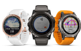 Garmin's new Fenix 5 Plus series adds music, payment, SO2 sensor and more