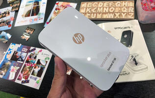 The HP Sprocket Plus portable printer lets you print your social media photos with ease
