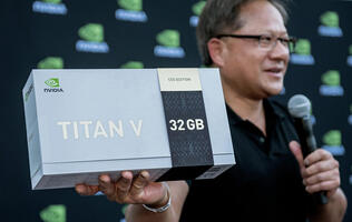 NVIDIA's limited edition Titan V CEO Edition GPU boasts beefed-up specifications