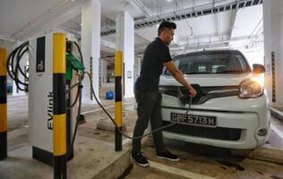SP Group to build 500 charging points for electric cars by 2020