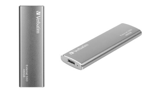 Verbatim's latest External SSD gives you 480GB of high speed storage in your pocket
