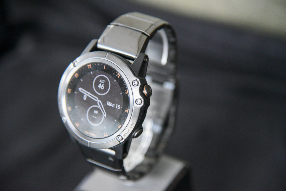Hands On With The New Garmin Fenix 5 Plus Multi Sport Gps