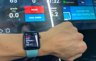 Hands and feet-on with Apple GymKit in Virgin Active Holland Village