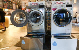 LG launches smaller capacity TwinWash washing machines for smaller homes