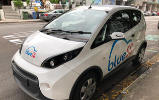 6 months with BlueSG electric vehicle car sharing: My driving experience