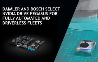 NVIDIA Drive Pegasus will power Bosch and Daimler's automated vehicles