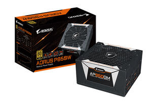 Gigabyte is making power supplies now with the Aorus P750W and P850W