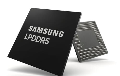 Samsung announces industry's first 8Gb LPDDR5 DRAM for phones