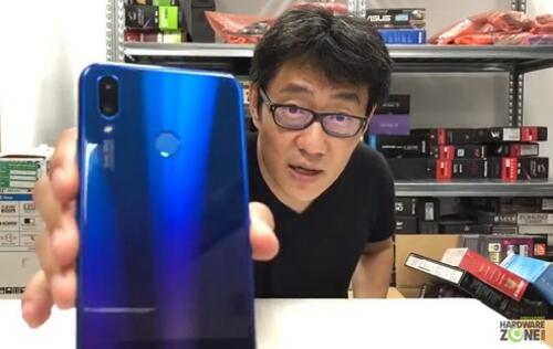 Unboxing the Huawei Nova 3i smartphone