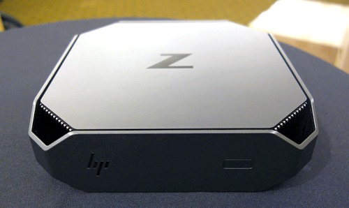 Here's a close look at ultra-compact HP Z2 Mini G4 workstation