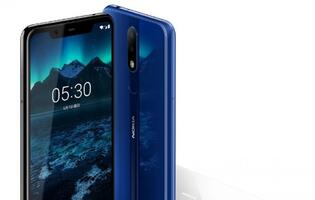 The Nokia X5 has a 5.8-inch display, dual cameras and 84% screen-to-body ratio