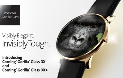 The Gorilla Glass DX and DX+ deliver improved optical clarity for wearables