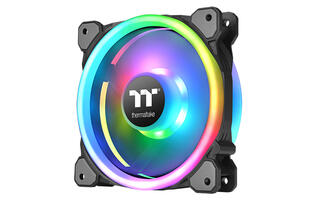 Thermaltake's Riing Trio 12 RGB fans can be controlled with your voice