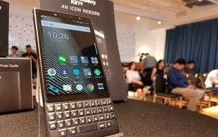 BlackBerry Key2 smartphone: Our initial impressions