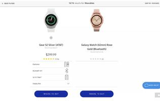 Samsung leaks the upcoming Galaxy Watch on its own website