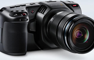 Blackmagic Design's latest camera promises the latitude of film with the convenience of digital