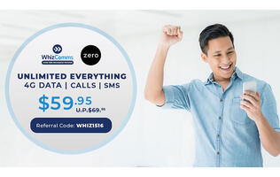 PSA: WhizComms subscribers who sign up for Zero Mobile's Zero X unlimited mobile plan can enjoy S$10 off their monthly bill