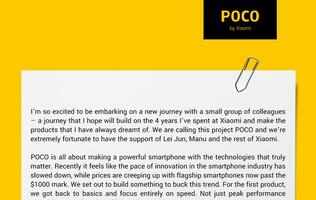 Poco is Xiaomi's new sub-brand to target the premium segment