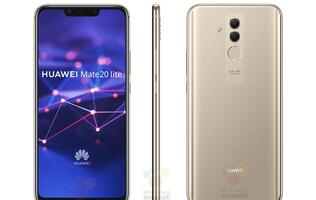 Leaked images of the Huawei Mate 20 Lite show a notched display and a new dual camera setup