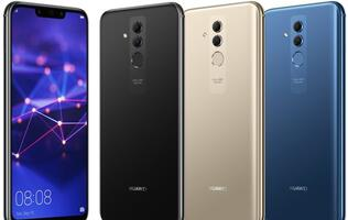 New leaked image shows the Huawei Mate 20 Lite in three colors
