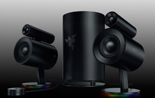 Razer's latest Nommo Pro speaker system brings quality audio to your desktop