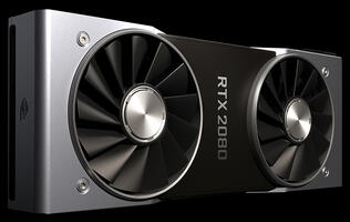 NVIDIA says its DLSS tech makes the GeForce RTX 2080 up to twice as fast as the GTX 1080