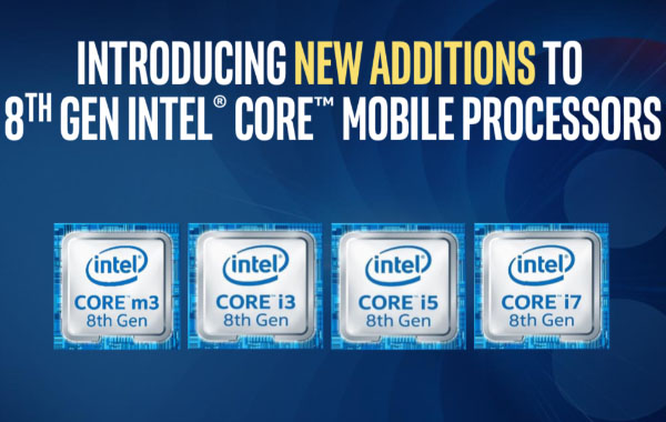 Intel announces new 8th-generation Core U and Y-series processors