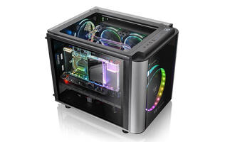 Thermaltake's Level 20 VT is a super compact chassis wrapped in tempered glass