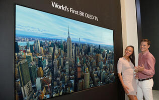 LG shows off world's first 8K OLED TV at IFA