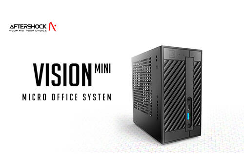 Aftershock goes after office users with its new Vision Mini PC