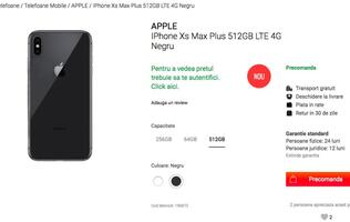 Romanian telco launches pre-orders for the new iPhones