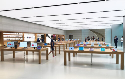 Is Apple opening another retail store in the eastern side of Singapore?